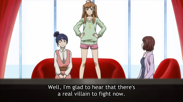 Samurai Flamenco Real Villain