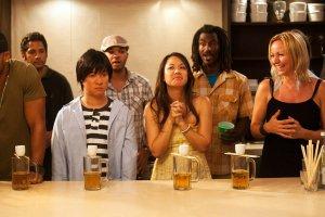 Sake-Bomb Drinking