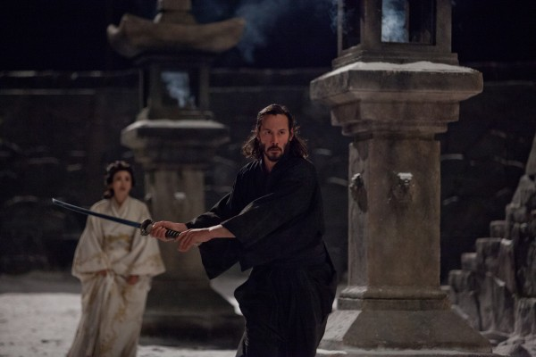 47 Ronin Keanu Reeves and Kou Shibasaki in Peril