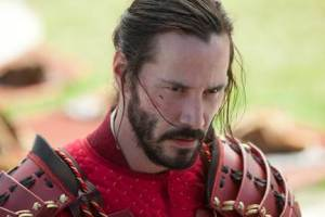 47 Ronin Keanu Reeves in Samurai Armour