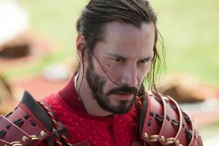 47 Ronin Keanu Reeves in Samurai Armour