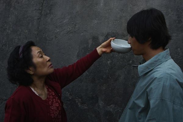 Mother Kim Hye-Ja and Weon Bin