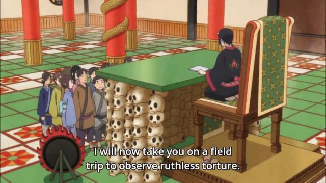 Hoozuki no Reitetsu Field Trip