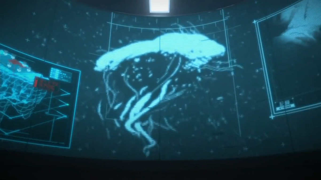 knights of sidonia seems to reference creatures and events from the
