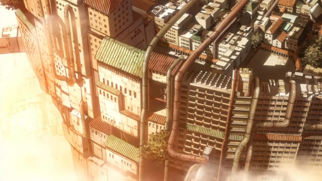 Knights of Sidonia Tall Building
