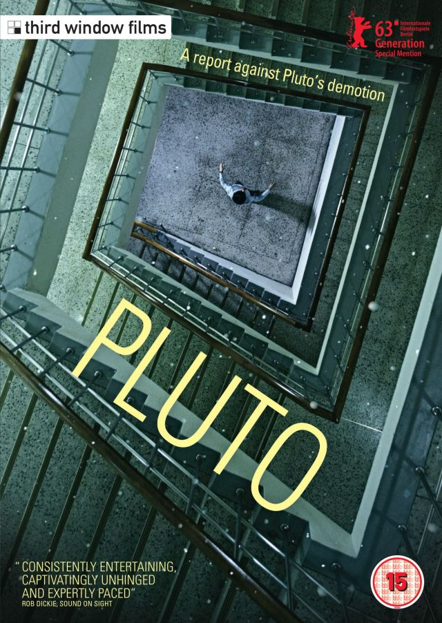 Pluto DVD Cover