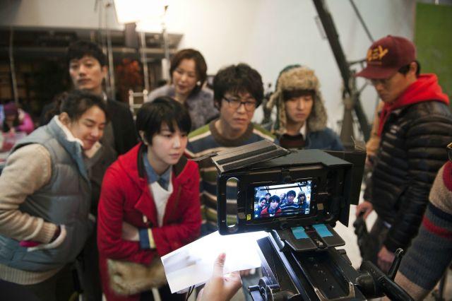 Behind the Camera Kim Ok-Vin On Set