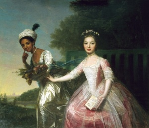 Dido Elizabeth Belle and Mary Murray