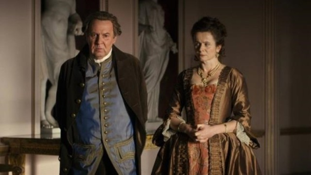 Lord and Lady Mansfield (Tom Wilkinson and Emily Watson) in Belle
