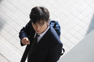 Parasyte Shota Sometani Looking Impossibly Cool