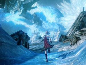 Final Fantasy XIII Straight Lines
