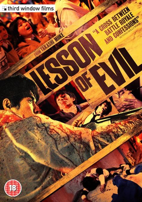 Lesson of Evil DVD Case
