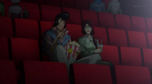 Space Dandy and Scarlet