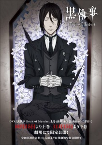 Black Butler Book of Murder Film Poster 2