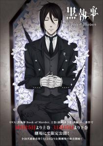 Black Butler Book of Murder Film Poster 2