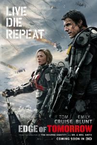 Edge of Tomorrow UK Film Poster