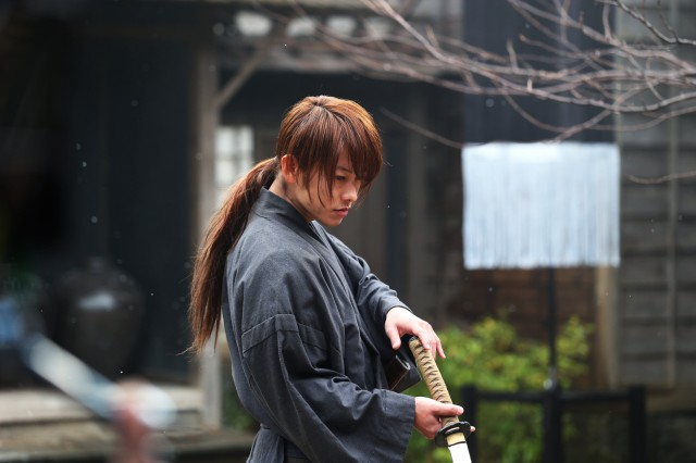 Rurouni Kenshin About to Fight (Takeru Satoh)