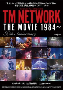 TM NETWORK THE MOVIE 1984 ~ 30th ANNIVERSARY Film Poster