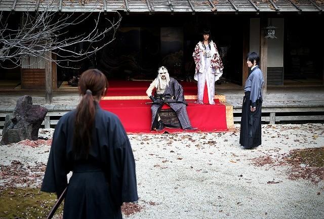 Rurouni Kenshin Kyoto Inferno Kenshin meets Makoto Shishio