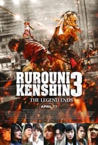 Rurouni Kenshin The Legend Ends UK Poster