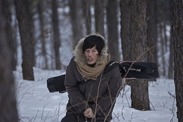 Jung Jae-Young in Forest in Korean Film Broken