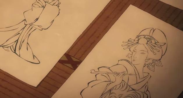 Miss Hokusai Fashion Pictures 2