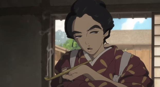 Miss Hokusai Gruff