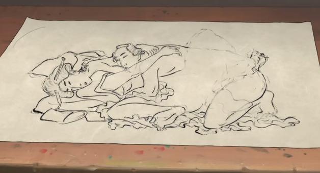 Miss Hokusai Shunga