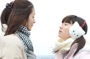 Watashi no Otoko Komachi (Aoba Kawai) and Hana (Fumi Nikaido) Confrontation