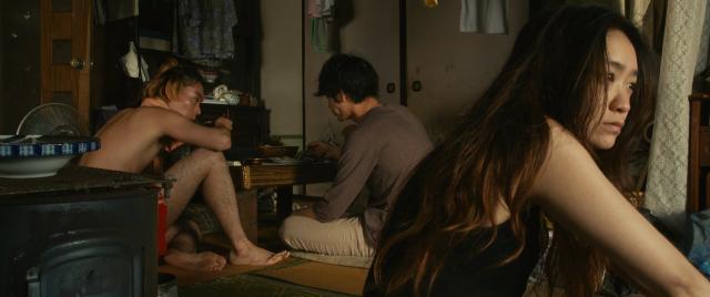 The Light Shines Only There Takuji (Suda) and Sato (Ayano) and Chinatsu (Ikeawaki)
