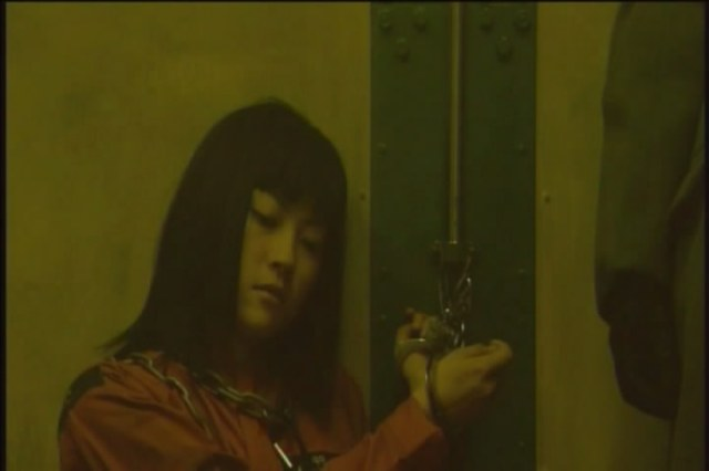 Hellevator Film Image Luchino (Fujisaki) in the lift