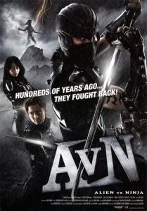 Alien vs Ninja Film Poster