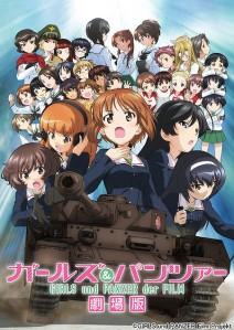 Girls und Panzer der Film Film Poster