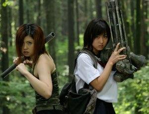 Machine Girl Minase Yashiro, Asami before battle
