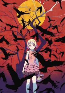 Kizumonogatari I Tekketsu-hen Film Poster
