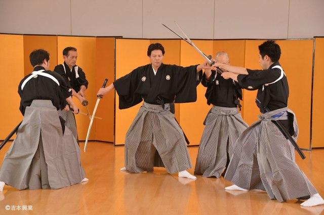 Jidaigeki wa shinazu Chanbara bigakukou Film Image