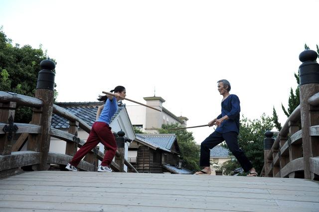Uzumasa Limelight Satsuki Iga (Chihiro Yamamoto) and Seiichi Kamiyama (Seizo Fukumoto) Train Some More