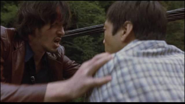 Sway Yureru Takeru (Joe Odagiri) and Minoru (Teruyuki Kagawa)