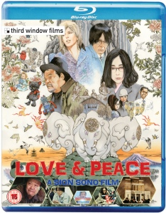 Love and Peace Bluray Cover