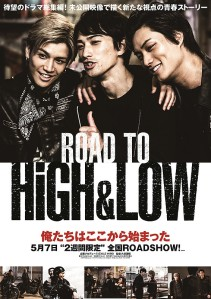 Road to High & Low Film Poster