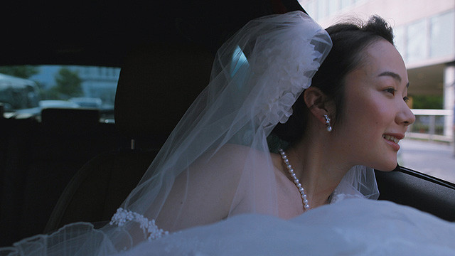 A Bride for Rip Van Winkle Nanami (Haru Kuroki) in a Dress