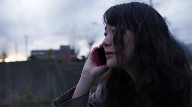 A Bride for Rip Van Winkle Nanami (Haru Kuroki) on Phone