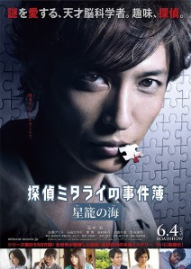 Detective Mitarai's Casebook The Clockwork Current Film Poster