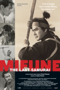 Mifune the Last Samurai Film Poster