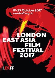 London East Asia Film Festival 2017 Poster