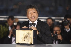 Hirokazu Koreeda Cannes 2018 Shoplifters Palme d'or
