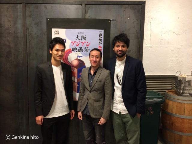 Bad Poetry Tokyo Team Takashi Kawaguchi, Orson Mochizuki, Anshul Chauhan