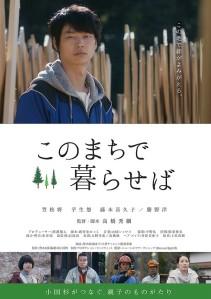 Kono machi de kuraseba Film Poster
