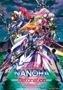 Magical Girl Lyrical Nanoha Detonation Film Poster