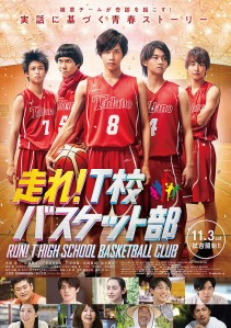 Run! T High School Basketball Club Film Poster